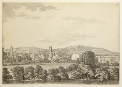 Bath, The Abbey And South Parade